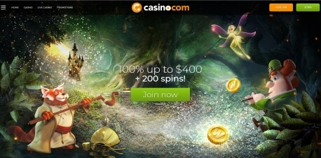 Casino.com – The Review Page