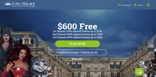 Euro Palace Online Casino Review