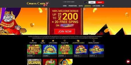 Conquer Casino Online – the Review Page