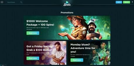 Spela Online Casino Review