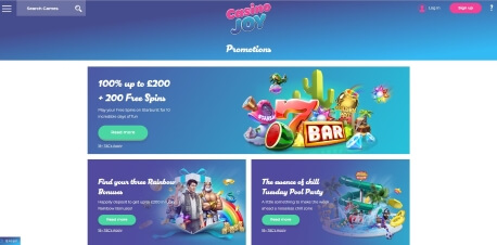 Casino Joy Online Casino Review