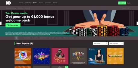 10Bet Online Casino Review