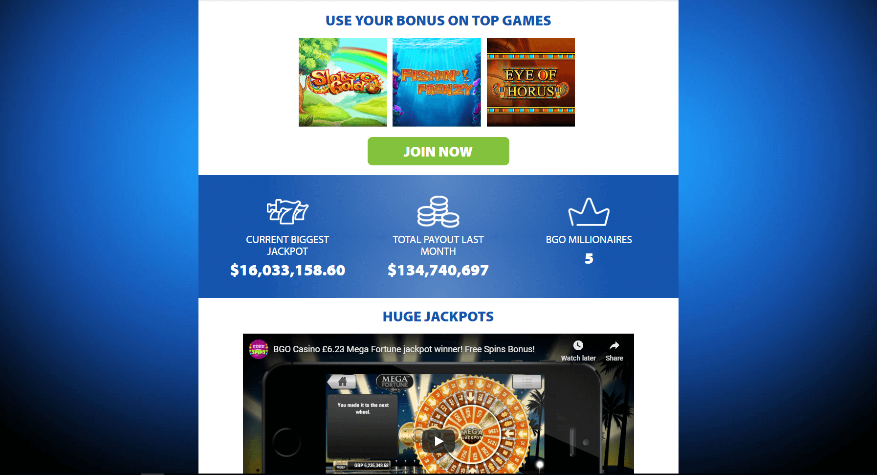 BGO Casino –The Review Page
